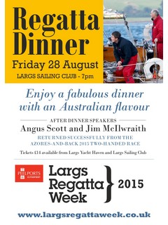 Largs Regatta week A4 posters 2015 scott mcilwraith